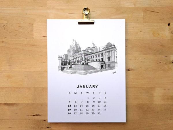 elainemorrow calendar 2020